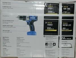 Kobalt 0672823 24v Max Brushless Compact Drill Driver Kit Cordless New in Box image 2