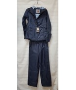 3392252 McKinley Cyclone Men's Hooded Full Zip Jacket & Pant Rain Suit N... - $19.87