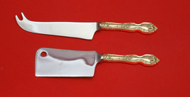 La Reine by Wallace Sterling Silver Cheese Server Serving Set 2pc HHWS  Custom - $110.30