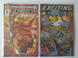 Exciting Comics #1 A/B First Print + Dark Knight Variant Antarctic Press 2019 - $22.28