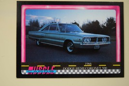 MUSCLE CARDS SERIES 1 KING OF THE HILL #86 1966 DODGE HEMI CORONET 500 - $3.72