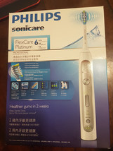Philips Sonicare FlexCare Platinum 6 Series Electric Toothbrush - $134.75
