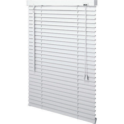 Primary image for 59 x 48 White Vinyl Miniblind - Mini Blind 59W x 48L