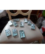 Lot of 5 snowman keychain fobs - new in box - $18.00
