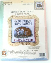 Candamar Designs Guess How Much I Love You Pillow 30919 10x10 Vintage 1994 - $29.69