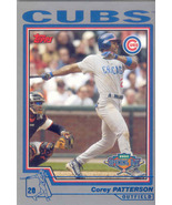 Corey Patterson ~ 2004 Topps Opening Day #11 ~ Cubs - $0.20
