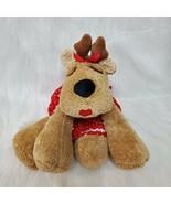 """9"""" Medium Hallmark Rhonda Reindeer Red Apron Rodney Beanbag Plush Toy B222 - $34.99"""