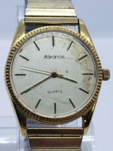 Vintage ADVANCE 83-2035 men's Watch QUARTZ NEEDS BATTERY - $26.99