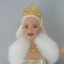 Holdiday Celebration Mattel Barbie Doll 2000 No Box Blonde Gold Gown Ball - $12.99