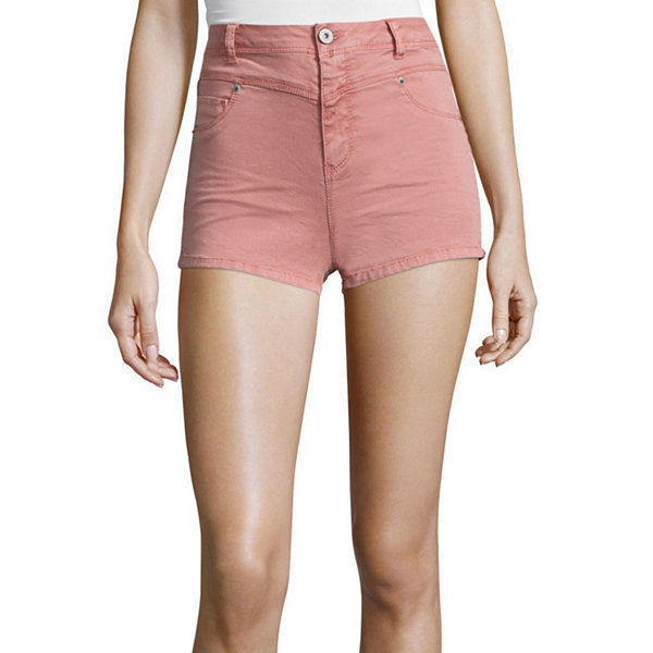 Primary image for Vanilla Star High Rise Shorts Size 5, 9 New Msrp $36.00 Dusty Rose