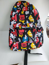 DISNEY PARKS EXCLUSIVE full Size Mickey Mouse Motif Backpack NWT - $34.60