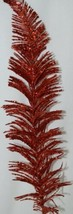 Tii Collections G3229 Red Swirled Decorative Tinsel Feather image 2