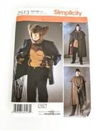 Simplicity 2513 Sz L XL Sherlock Werewolf Steampunk Pattern Uncut - $18.95