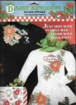 Daisy Kingdom No-Sew Applique #6391 - Poinsettas & Wreath - NEW - $7.92