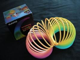 Slinky Toy - Plastic Rainbow Magic Spring Toy Nostalgia - Slinky Promo T... - $1.99