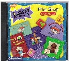 Nickelodeon Rugrats Print Shop (PC) [CD-ROM] Windows 95 / Windows 98 - $6.00