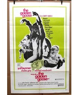 "Original The Golden Goose 1969 movie poster Yul Brynner  27"" x 41"" - $29.14"