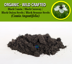 POWDER Black Cumin Nigella Sativa Black Caraway Black Onion Seeds Sesame... - $7.99+