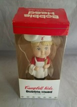 Campbells Soup Campbell Kids Bobble Head Blonde Boy Chef Collectible Doll  - $14.89