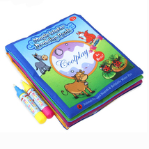 Water Drawing Fabric Book Graffiti Drawing Book Kid Early Education Non ... - $18.99