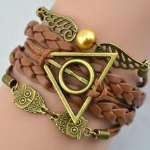 << Braided Strap Bracelet **Owl Harry Potter** >> We Combine Shipp - $3.75