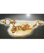 HAUNTED QUEEN WITCH'S GOLDEN WAND WIZARD'S HEART HIGHEST ORDER OF WITCHE... - $1,007.77