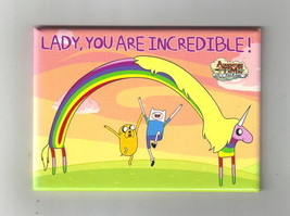 Adventure Time Finn and Jake, Lady You Are Incredible! Refrigerator Magn... - $3.99