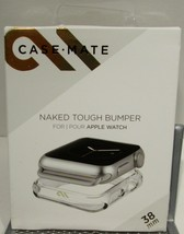 Case Mate Naked Tough Bumper - Apple Watch Series 1,2,3 - 38mm Clear - $4.53