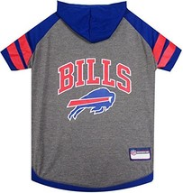 NFL Buffalo Bills Hoodie for Dogs & Cats. NFL Football Licensed Dog Hood... - $17.81