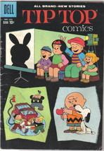 Tip Top Comics Comic Book #219 Dell 1960 Peanuts Story FINE- - $33.78