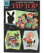 Tip Top Comics Comic Book #219 Dell 1960 Peanuts Story FINE- - $33.78