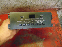 87 88 89 Lincoln Mark 7 vII heater temperature climate control switch unit - $98.99