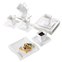 Malacasa 18-Piece Porcelain Teacups and Saucer Set with Coffee Cup Set D... - $59.51