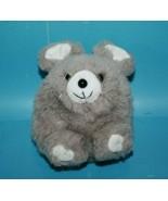 "Kids of America Plush Chinchilla 5"" Soft Toy Gray Mouse Round Fluffy Bea... - $29.02"
