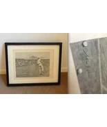 ARTHUR HOPKINS British artist ETCHING PRINT Plate Signed 1888 WIMBLEDON ... - $467.14