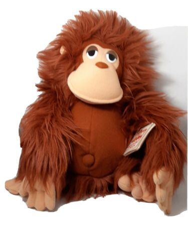 "Primary image for  Dakin Plush Orangutan ""O'Haire"" NWT Vintage M-330 Monkey Ape Fun Farm 1984 12"""