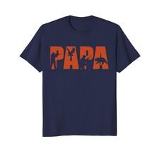 Dad Shirts - Hunter Dad T-shirt Funny Papa Hunting Father Gift Top Tee Men - $19.95+