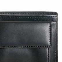 New Calvin Klein Ck Men's Leather Wallet Id Billfold With Coin Case Black 79600 image 7
