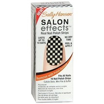 Effect Sally Hansen Salon NAIL Strip hs1401 CHECK PLEASE 235 - $5.99