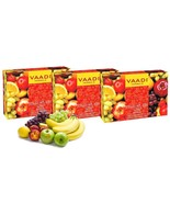 Vaadi Herbals Fruit Splash Soap with Orange Peach Green Apple 75gm Pack ... - $10.98