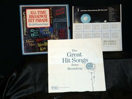 All Time Broadway Hit Parade Record, The 120 Greatest Songs AA-191749 Vintage C image 1