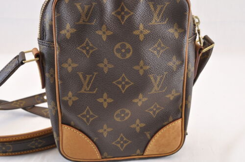 LOUIS VUITTON Monogram Danube Shoulder Bag M45266 LV Auth sa1689