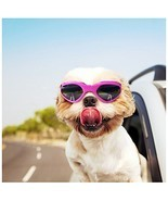 NACOCO Foldable Dog Goggles Sunglasses Waterproof Windproof Protect Pets... - £6.66 GBP