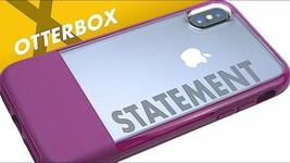 OTTERBOX Statement Series Case for iPhone XR Magenta Felt - $20.77