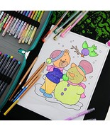 This set of coloring pens set (watercolor pencils and gel ball pen / dra... - $51.00