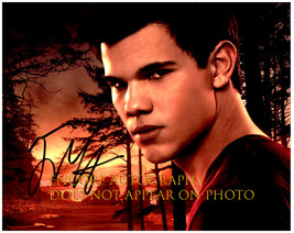 Taylor Lautner Authentic Original Signed Autographed 8X10 w/ Coa 446 - $50.00