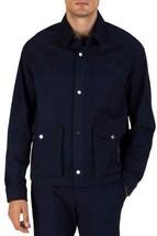 ATM Anthony Thomas Melillo MIDNIGHT Stretch Cotton Utility Jacket, US Me... - $136.87