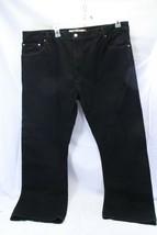 Levis Mens 517 Jeans Black 44 x 32 Boot Cut - $42.09