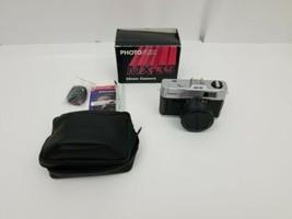 Vintage PhotoFlex MX-35 35mm Camera w Original Box, Strap, Case, Manuals... - $12.87