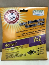 Arm & Hammer Hoover Y & Z VACUUM CLEANER BAGS 3 pieces 67978G - $5.98